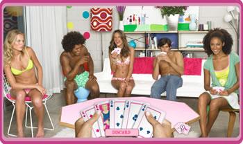Pink Panty Poker