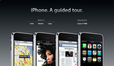 iPhone Guided Tour