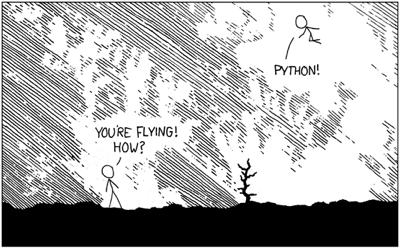 xkcd python