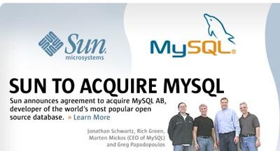 Sun MySQL