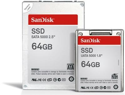Disque dur SSD 64GB