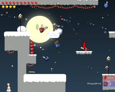 Teewars screenshot