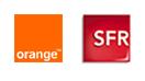 Logos Orange et SFR