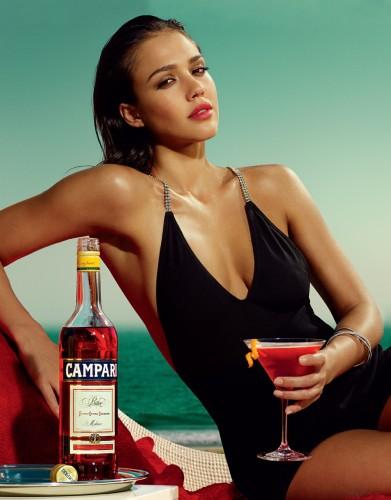 Jessica Alba - Campari Calendar 4