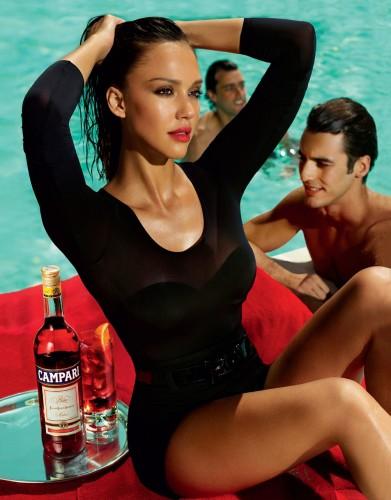 Jessica Alba - Campari Calendar 9
